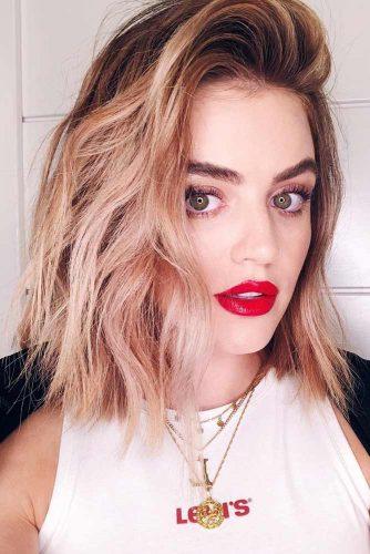 Pastel Strawberry Blonde Brown Roots #blondehair #strawberryblonde