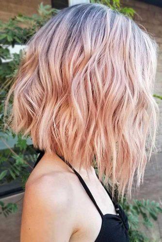 Pastel Strawberry Blonde Brunette #blondehair #strawberryblonde