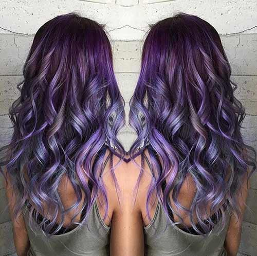 Purple Amethyst Tones