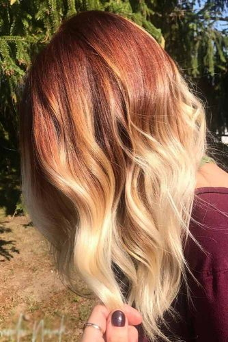 Red to Blonde Balayage picture2