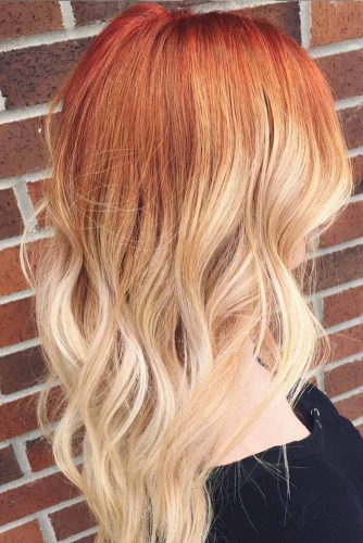 Red to Blonde Balayage picture3
