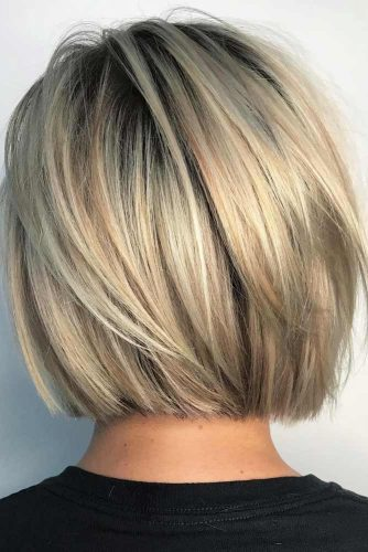 Short And Sassy Blunt Bob Haircut #bobhaircuts #haircuts #bluntbob #mediumbob #straighthair