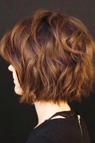Short Bob Shag Haircut picture3