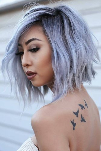 Short to Medium Hairstyles for Round Face Shape picture3