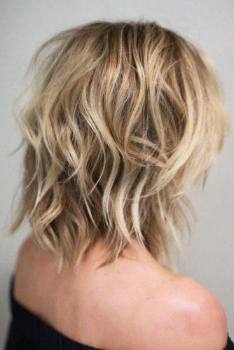 Shoulder Length Shag Haircut picture1