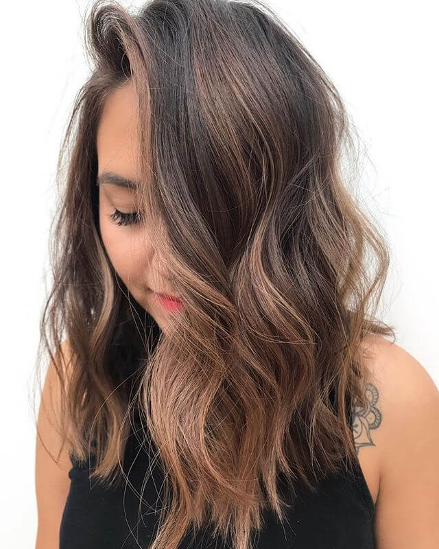 Simple Curled Look For Long Hair
