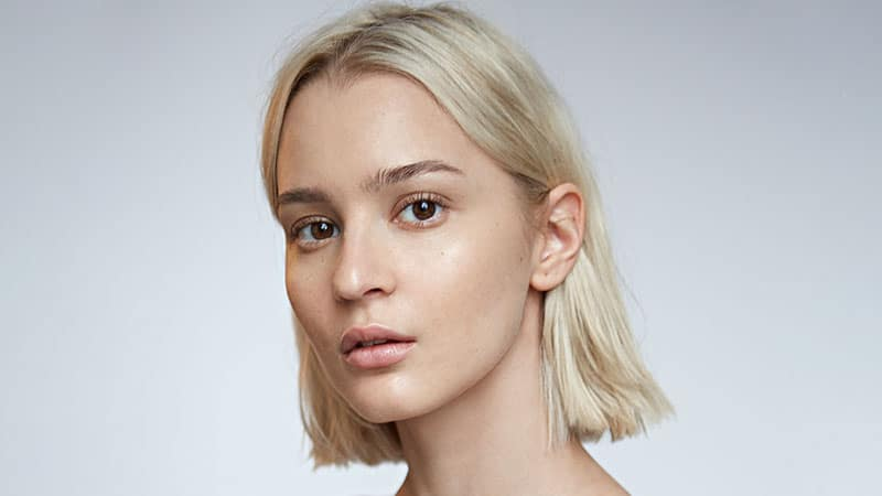 Simple Long Bob Hairstyle