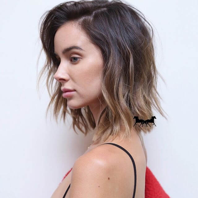 Simple, Modern Haircut For Busy Ladies