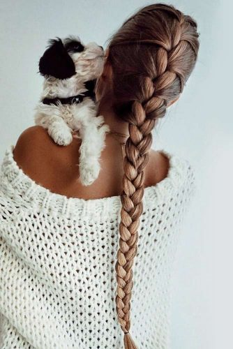 Simple Stylish Ideas Of French Braid Hairstyles picture1