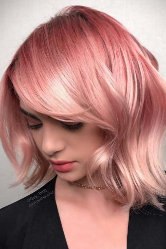 Sleek and Glossy Bob