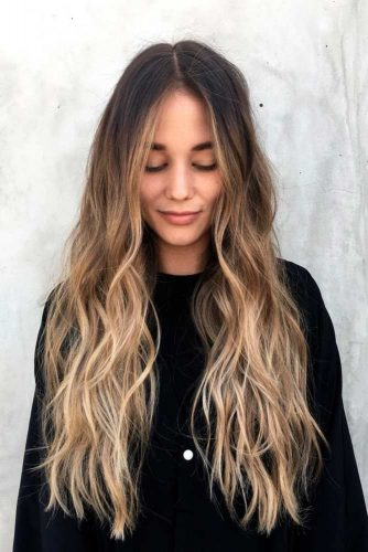 Soft Highlights For Long Hair