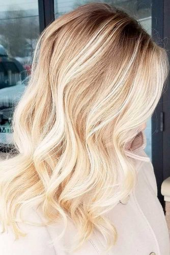 Stylish Blond Balayage Hair Color picture 1
