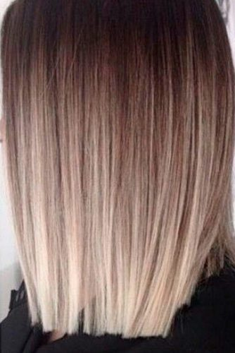 Stylish Blond Balayage Hair Color picture 2