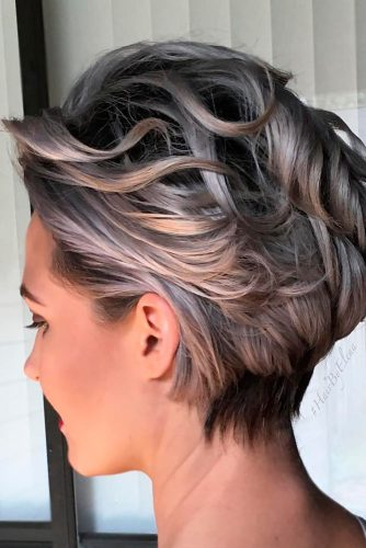 Stylish Short Grey Haircuts picture 1