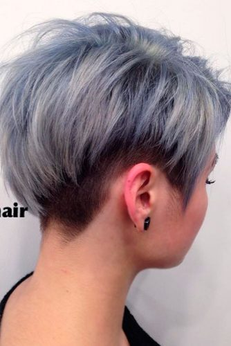 Stylish Short Grey Haircuts picture 3