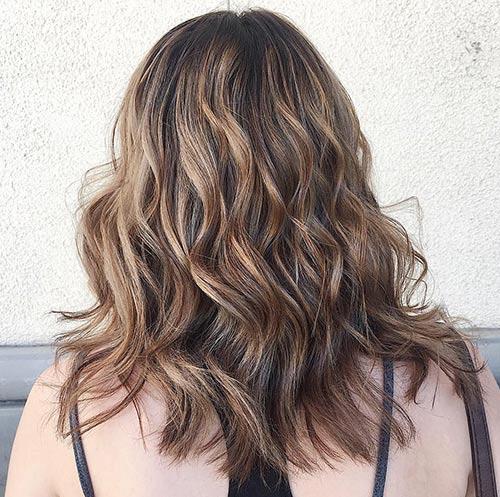 Sun-Kissed Ash Brown Hair