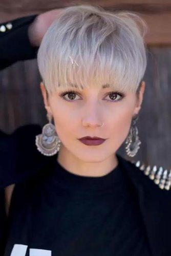 Sweet Pixie with Bangs