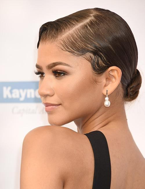 The Low Bun Updo
