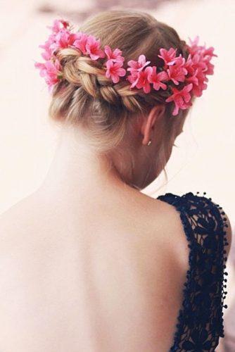 Updo Braids Styles Crown #braids #updo