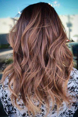Wavy Long Shag Haircut #shaghaircut #haircuts #longhair