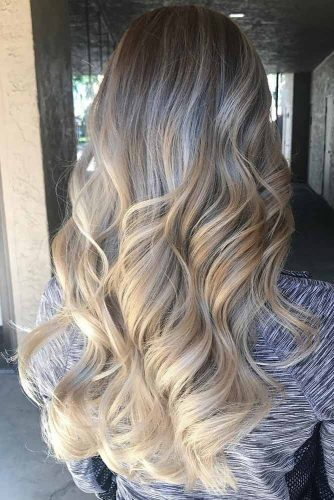 White Blonde Balayage picture1