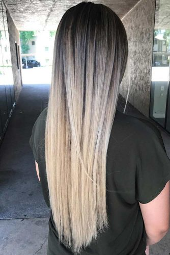 White Blonde Balayage picture2
