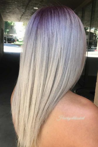 White Blonde Balayage picture3