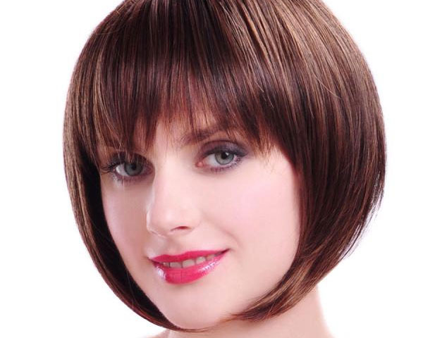 women layered bob brown hairstyles