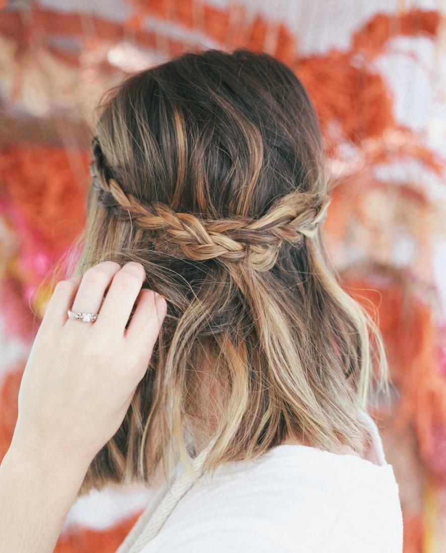 29 Swanky Braided Hairstyles To Do On Short Hair Hairs London