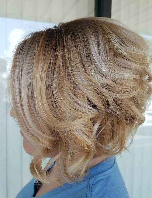 12. Stacked Soft Blonde Waves