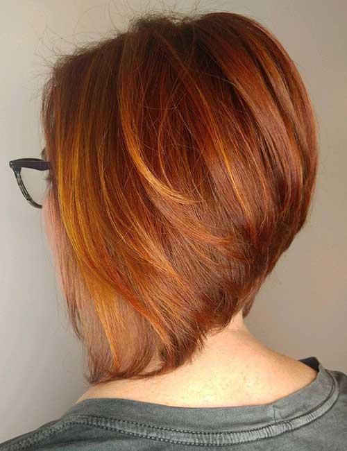14. Dramatically Angled Ginger Stack