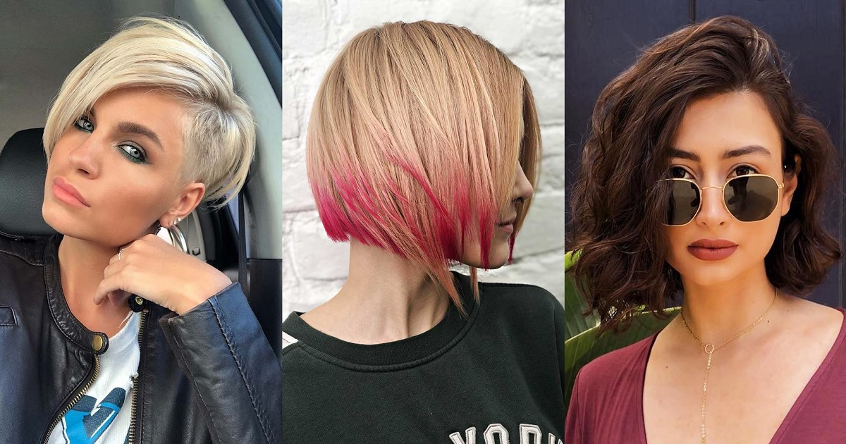 Magnificent 28 Flattering Short Haircuts For Oval Faces Hairs London Natural Hairstyles Runnerswayorg