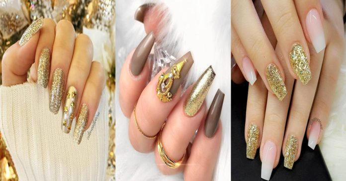 33-GOLD-NAILS-DESIGNS-TO-TRY