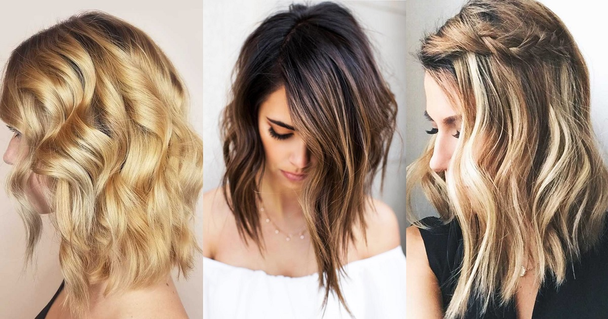 37 BEACH WAVY HAIRSTYLES FOR MEDIUM LENGTH HAIR