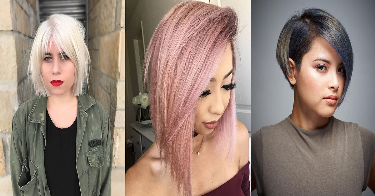 2019 Hairstyles For Round Faces: 50 Fabulous Hairstyles For Round Faces To Upgrade Your