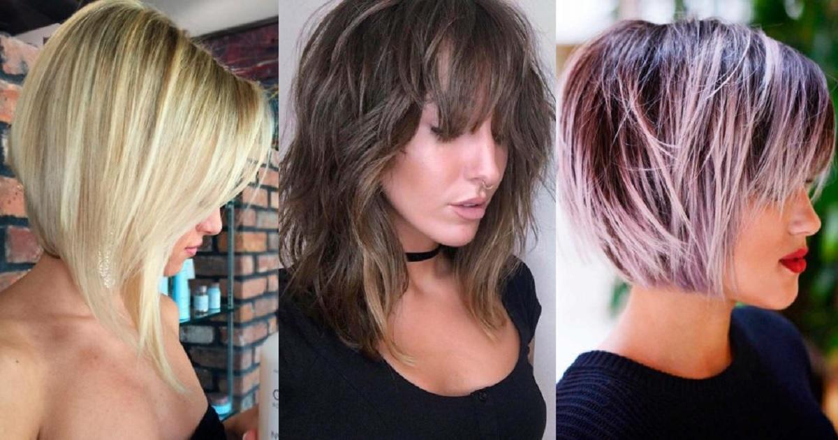 Best Layered Lob Haircut Ideas of 2019