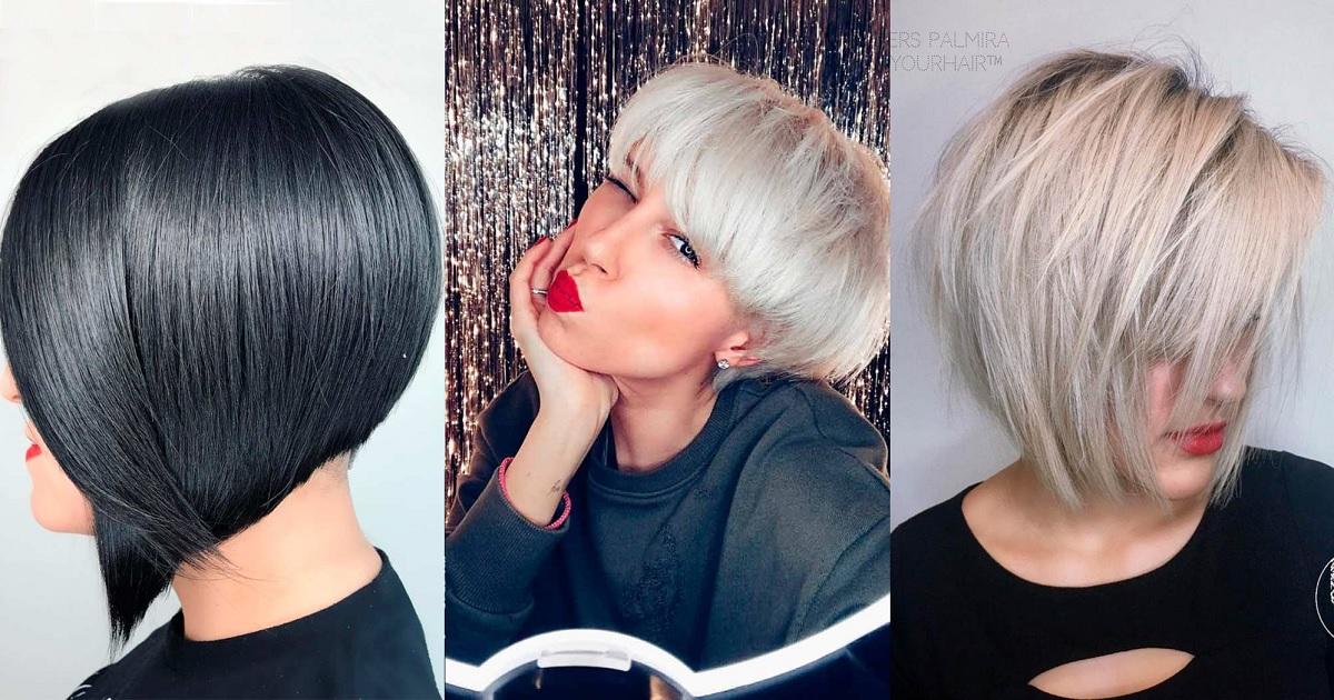 SHORT HAIRCUT STYLES FOR STRAIGHT HAIR