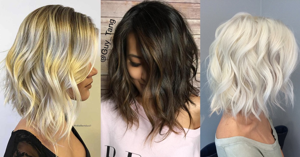 Hairstyles 2019: TRENDY MESSY BOB HAIRSTYLES 2019