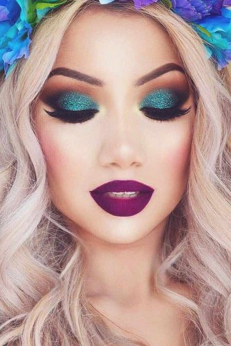 Amazing Purple Lipstick Makeup Ideas picture 1