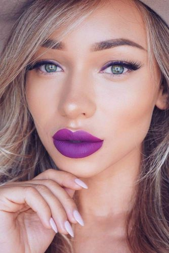 Amazing Purple Lipstick Makeup Ideas picture 2