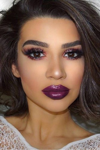 Amazing Purple Lipstick Makeup Ideas picture 3