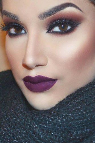 Amazing Purple Lipstick Makeup Ideas picture 4