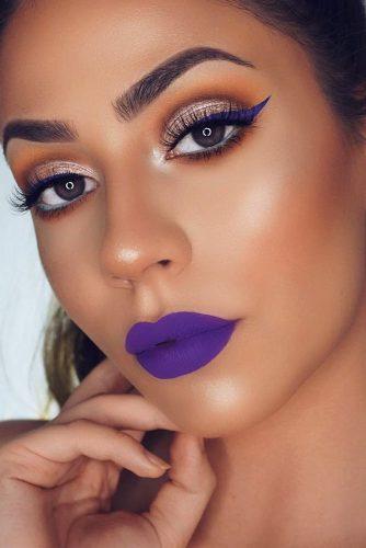 Amazing Purple Lipstick Makeup Ideas picture 6