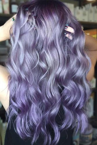 Amethyst Dark Purple Hair picture3