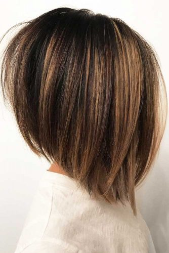 Angled Straight Lob Shoulderlengthbob Bobhairsty Hairs London