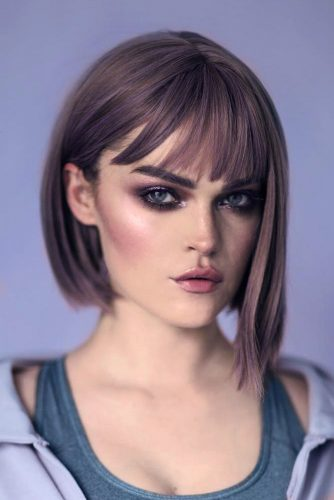 Asymmetrical Bobs Ideas for Straight Hair Picture 5