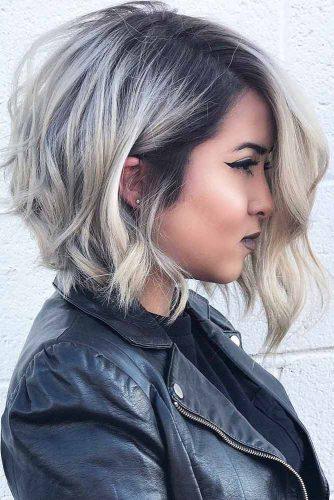Asymmetrical Medium Length Haircuts Picture3 Hairs London