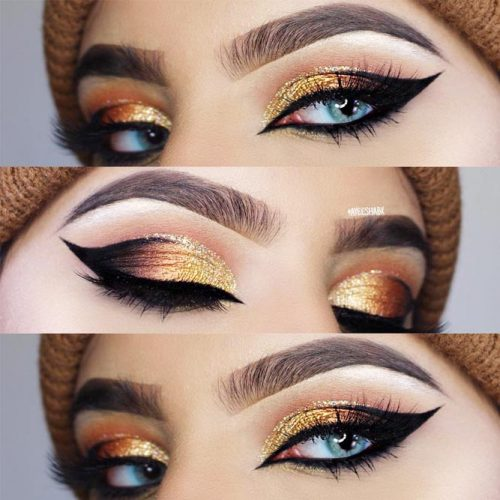 Awesome Makeup Ideas With Cat Eyeline picture 3