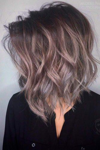 Beach Wavy Medium Length Hairstyles picture 1