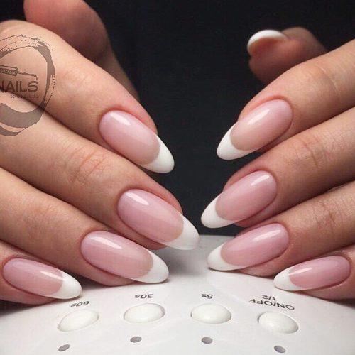 Beautiful French Manicure Design #frenchmani